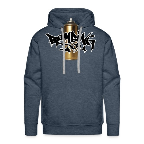 Golden Spray Can Bombing Tool - Men's Premium Hoodie