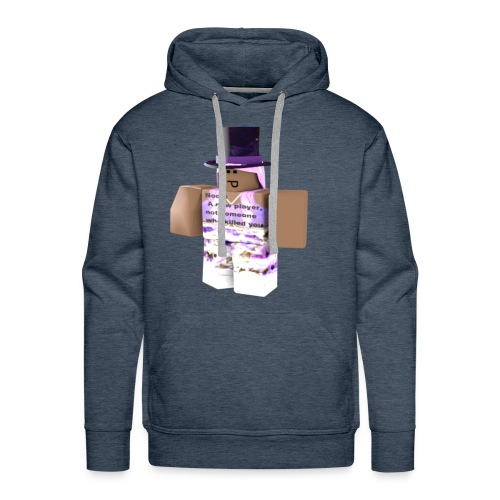 Poppit5AJ Pic - Men's Premium Hoodie