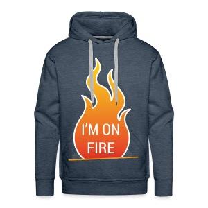 I'm on fire - Mannen Premium hoodie