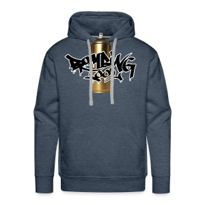 Golden Spray Can Bombing Tool - Sudadera con capucha premium para hombre