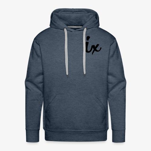 IX - Sweat-shirt à capuche Premium pour hommes