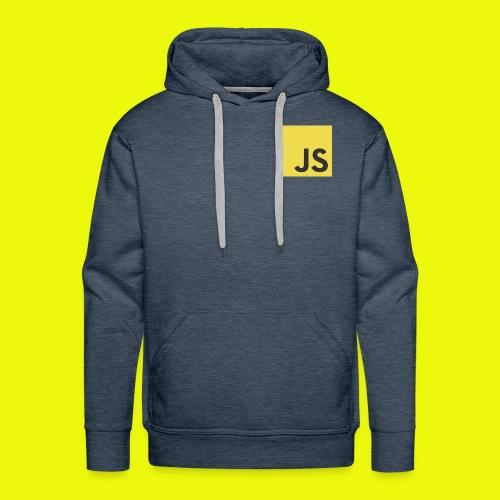 Js - Sweat-shirt à capuche Premium pour hommes