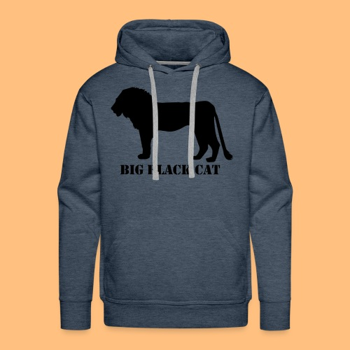 BIG BLACK CAT - Männer Premium Hoodie