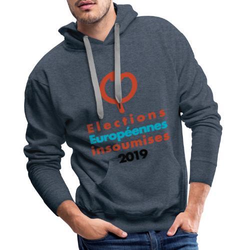 PHI ok 2019 - Sweat-shirt à capuche Premium pour hommes