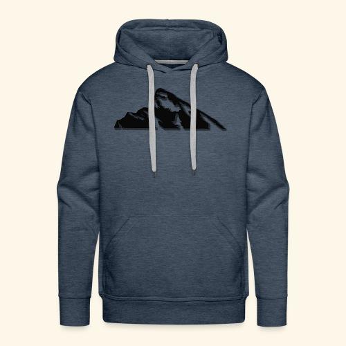 Snowy mountains - Men's Premium Hoodie