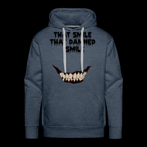 13 reasons why horror smile - Felpa con cappuccio premium da uomo