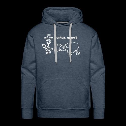 Shisha Sheep Drawing - Männer Premium Hoodie