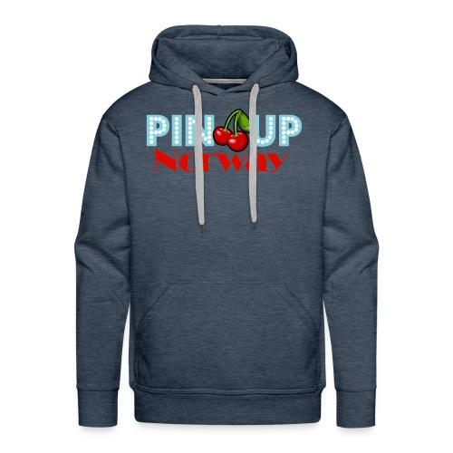 Pinup Norway Fan Club - Premium hettegenser for menn