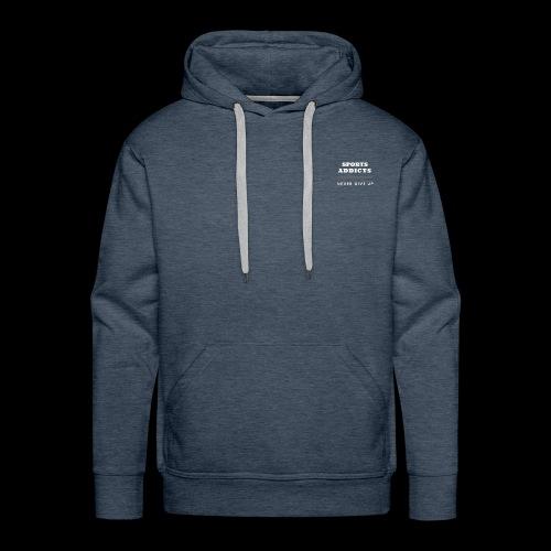 Addict-0 - Sweat-shirt à capuche Premium pour hommes