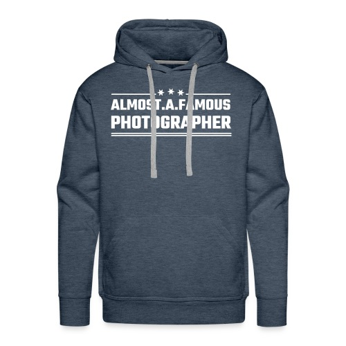 Almost a famous photographer - Männer Premium Hoodie