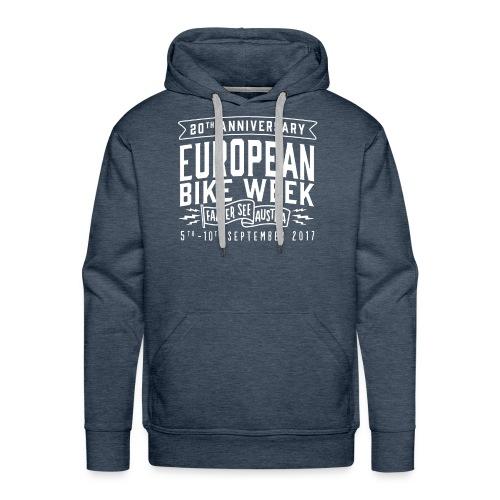 EBW2017 logo - Mannen Premium hoodie