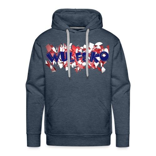 Wulfsko's Logo - Männer Premium Hoodie