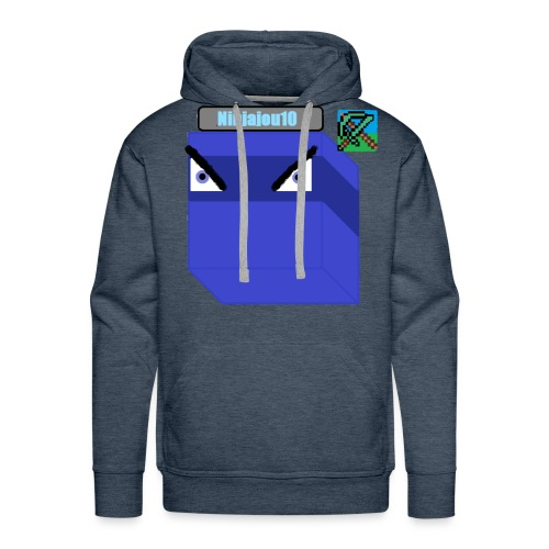 Ninjajou10 LOGO!!! - Men's Premium Hoodie