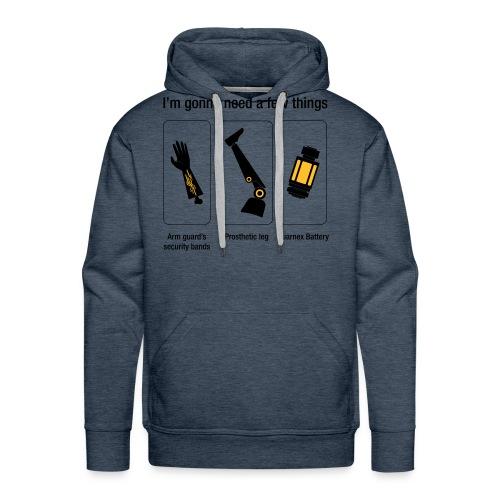 Rocket citation Few things gardiens - Sweat-shirt à capuche Premium pour hommes