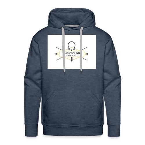 blasondjoksound - Sweat-shirt à capuche Premium pour hommes