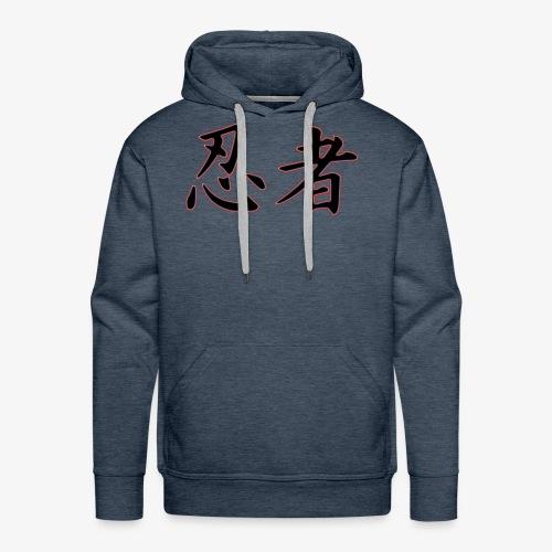 Logo officiel Ninja - Sweat-shirt à capuche Premium pour hommes