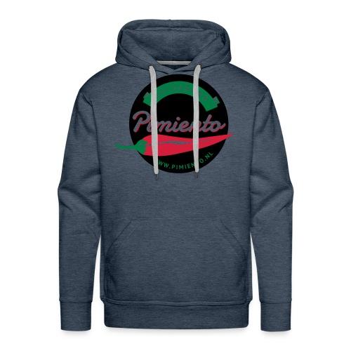 Salsaband Pimiento T-shirt Zwart - Mannen Premium hoodie