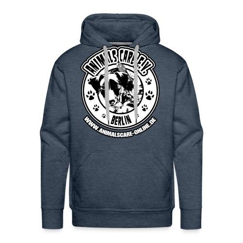 Animals Care Logo - Männer Premium Hoodie