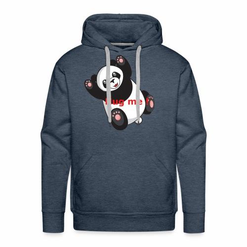 Panda Hug me - Männer Premium Hoodie