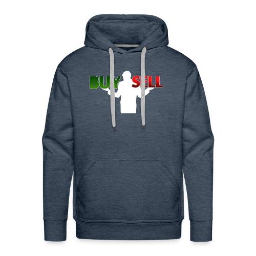 Buy Sell mit weißer Person - verschiedene Farben - Männer Premium Hoodie