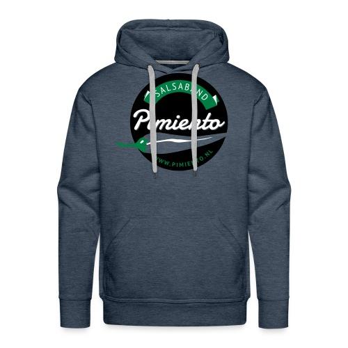 Salsaband Pimiento T-shirt Rood - Mannen Premium hoodie