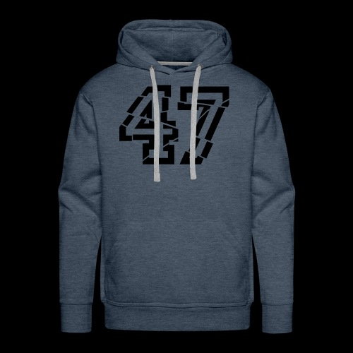 47 broken - Männer Premium Hoodie