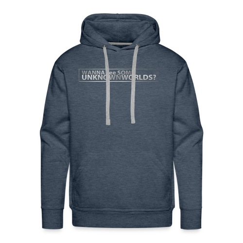 Wanna see some UnknownWorlds? - Männer Premium Hoodie
