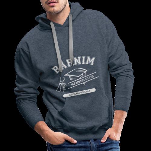 Member Club Logo (hellgrau) - Männer Premium Hoodie