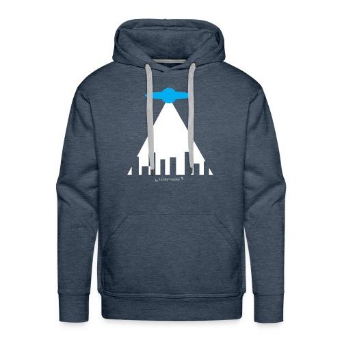 soucoupe volante - Sweat-shirt à capuche Premium pour hommes