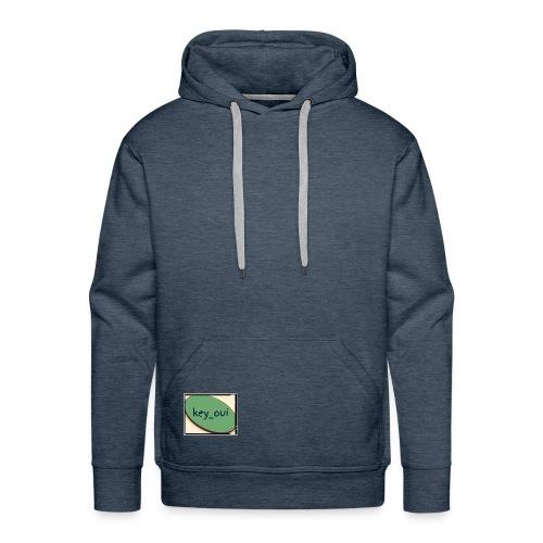 Key_oui - Sweat-shirt à capuche Premium pour hommes