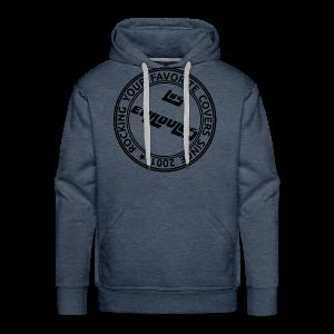 Badge - Sweat-shirt à capuche Premium pour hommes