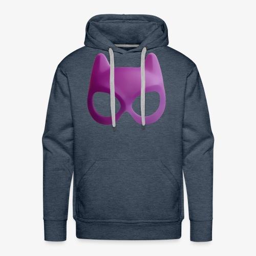 Bat Mask - Bluza męska Premium z kapturem