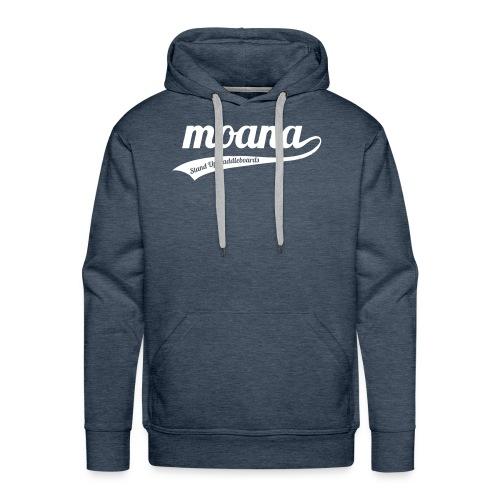 Moana retro logo - Mannen Premium hoodie
