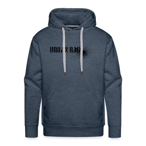 urban rain logo - Männer Premium Hoodie