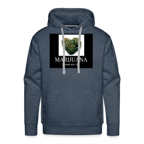 Marijuana - Mannen Premium hoodie