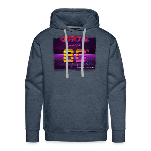 Official product of the 80's clothing - Men's Premium Hoodie