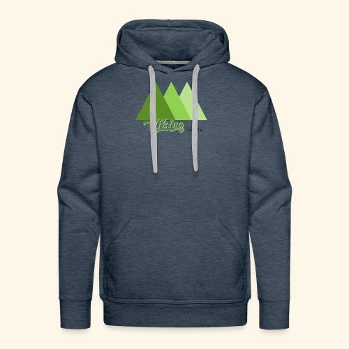 hiking - Sweat-shirt à capuche Premium pour hommes
