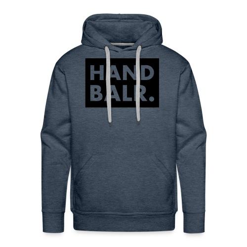 Handbalr Wit - Mannen Premium hoodie
