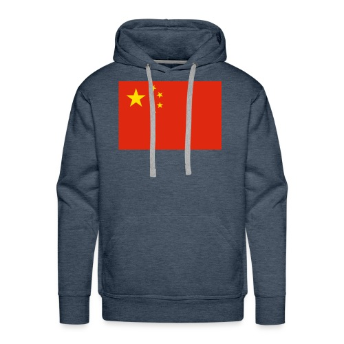 Small Chinese flag - Men's Premium Hoodie