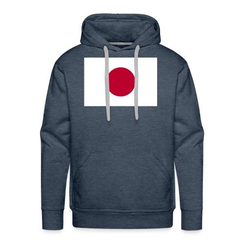 Small Japanese flag - Men's Premium Hoodie