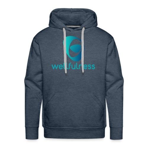 Wellfulness Original - Sudadera con capucha premium para hombre