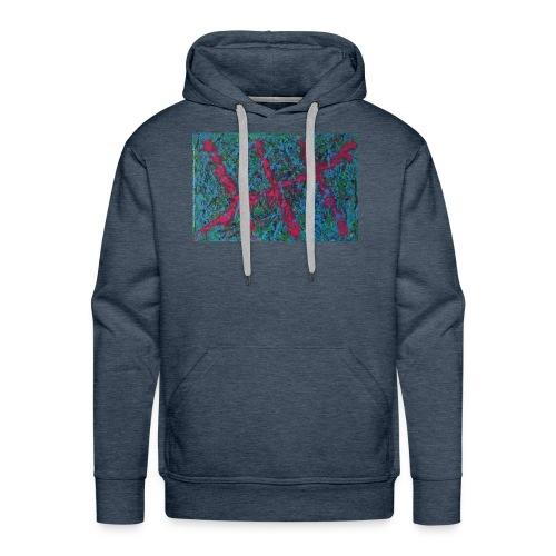Par-Dela le Corail - Sweat-shirt à capuche Premium pour hommes