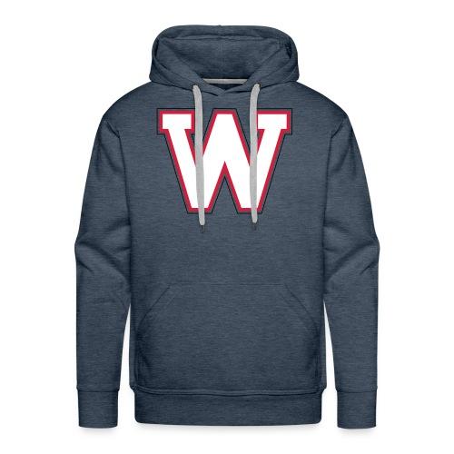 W-badge - Sweat-shirt à capuche Premium pour hommes