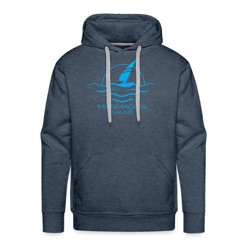 Marmaglia Basic Logo - Felpa con cappuccio premium da uomo