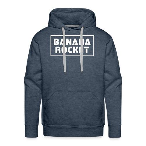Banana Rocket Classic Woman - Felpa con cappuccio premium da uomo