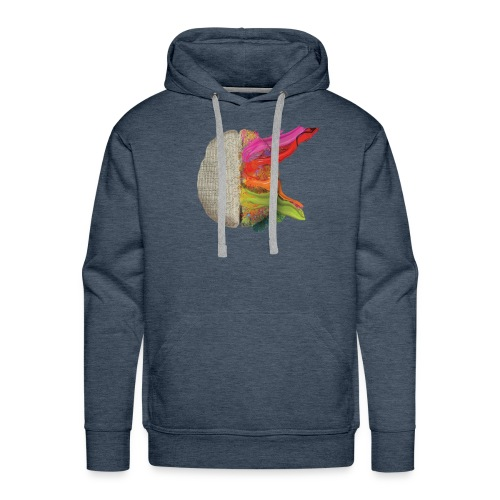 Brain and colours - Sudadera con capucha premium para hombre