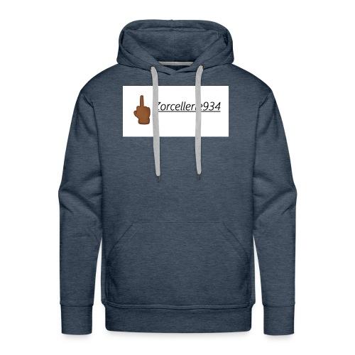 Zorcellerie934 Middle Finger - Sweat-shirt à capuche Premium pour hommes