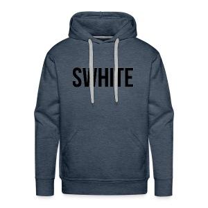 Swhite - Mannen Premium hoodie