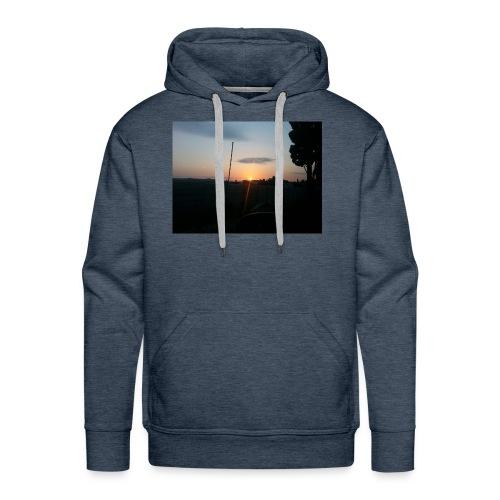 sol de noche - Sudadera con capucha premium para hombre
