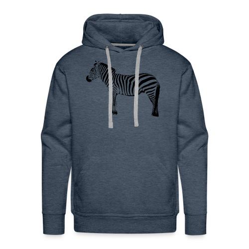 Basic T-Shirt Woman | I am a freaking ZEBRA - Men's Premium Hoodie